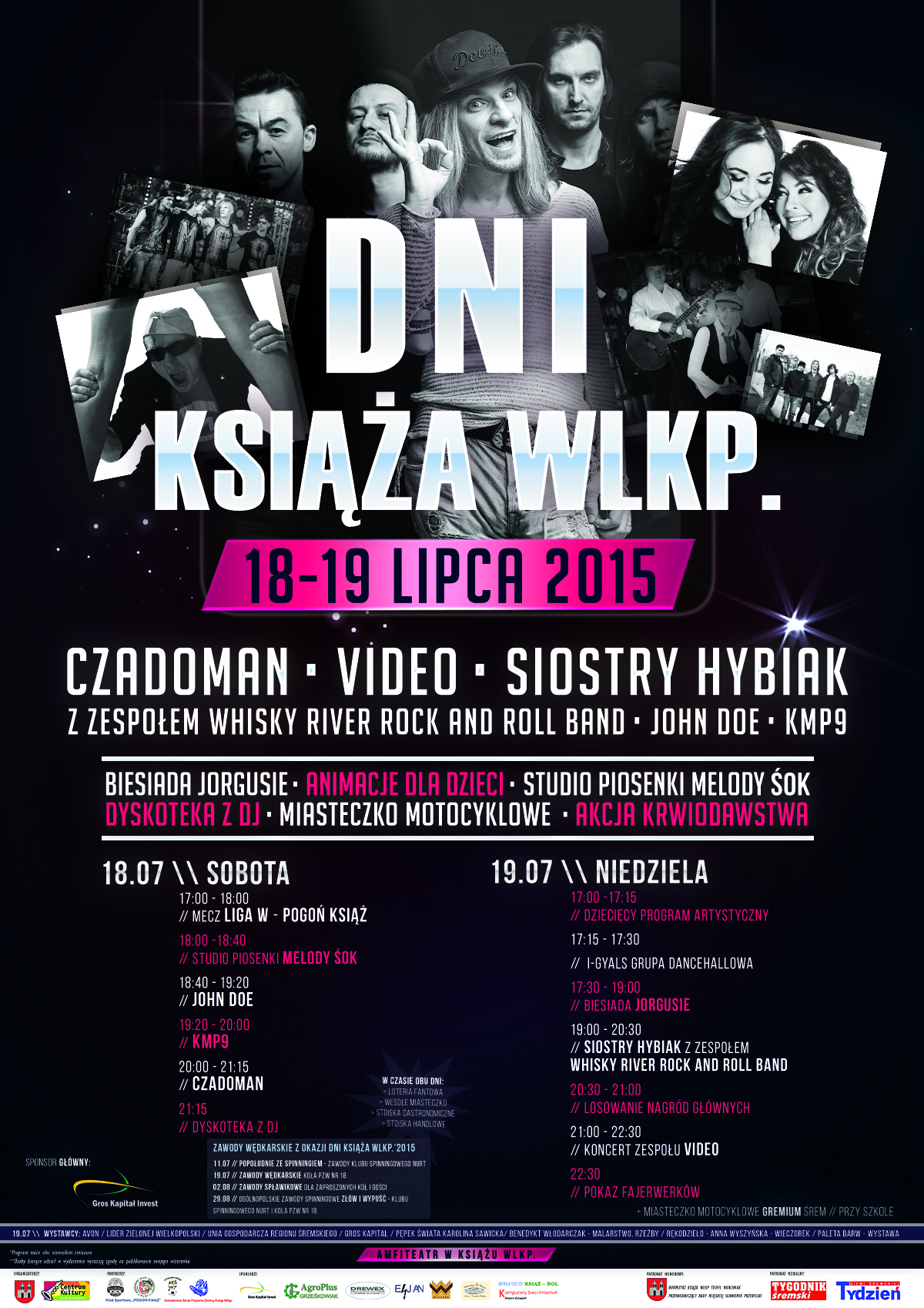 Plakat Dni Książa Wlkp. 2015